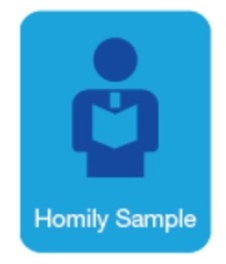 Homily Sample