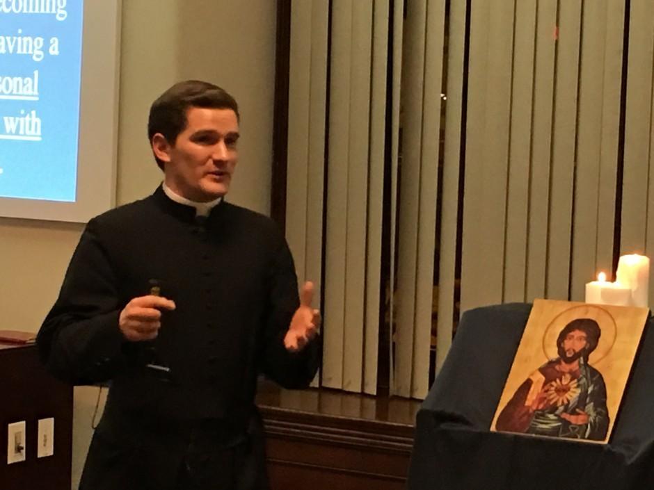 chaplain of Sacred Heart Apostolate KC