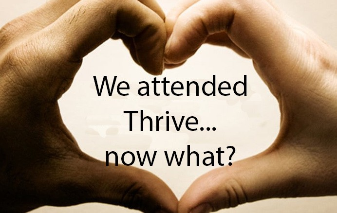 Thrive Post Weekend Ad W Text