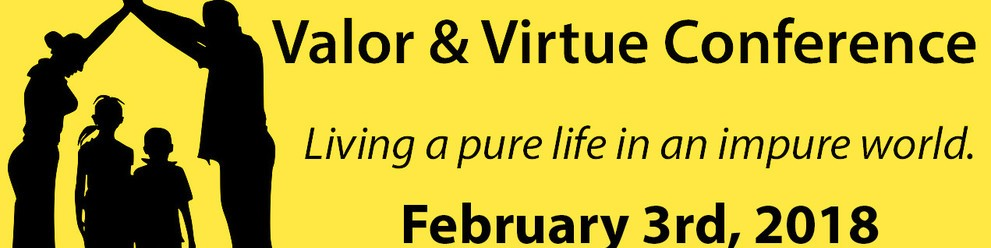 Valor And Virtue Conference Title Theme 2 Yellow Bkgrd